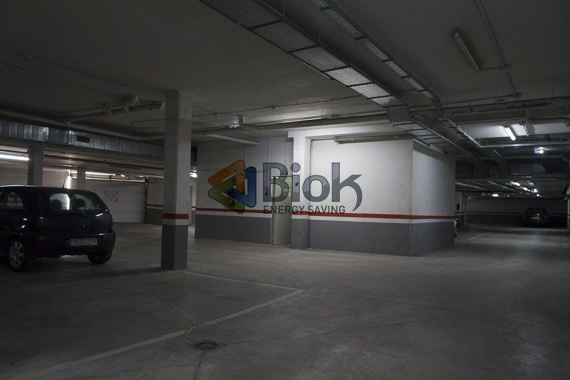 Imagen de un garaje eficiente, optimizado por Biok Energy Saving